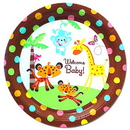 Creative Converting 554416 Fisher Price Baby Banquet Plate (10.25