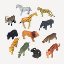 Partypro 1581 Safari Animals Plastic Toy Favor (12/Pk)