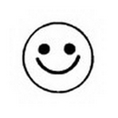 Partypro 93105 Stamptoos - Smiley Face