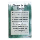 Partypro EA8273 Prayer For Family Pocket Card