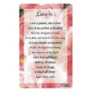 Partypro EA8287 Love Is ... Pocket Card