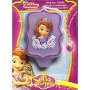 Wilton 2811-2106 Sofia The First Birthday Candle