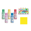 Partypro 710-5502 Yellow Color Mist