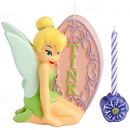 Partypro 2811-3330 Tinker Bell Candle Cake Topper Set