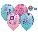 Partypro 91230 Paw Patrol Girl Latex Balloon 25 Count
