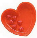 Partypro 050757 Heart Serving Bowl