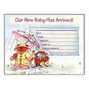 Partypro 891357 Discontinued Baby Announcment Inv