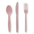 Partypro 010430 Lavender Cutlery Combo Pack (24Ct)