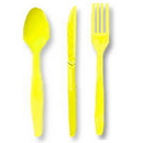 Partypro 010432 Lt Yellow Cutlery Combo Pack (24Ct)