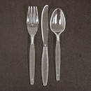Creative Converting 010551B Clear Spoon 50 Ct