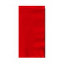RED GUEST TOWEL (16CT.)