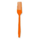 Creative Converting 010613 Orange Fork 24 Ct