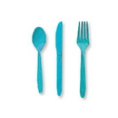 Partypro 010616 Bermuda Blue Cutlery Combo Pack (24Ct)