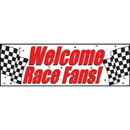 RACE FANS GIANT PARTY BANNER