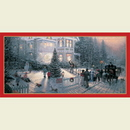 Partypro 726778 Discontinued Victorian Christms Tablecover