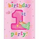 Partypro 895748 Fun At One Girl Invite