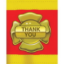 Creative Converting 891771 Firefighter Thank You Fld