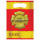 Creative Converting 085771 Firefighter Loot Bag