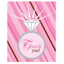 Partypro 890127 Bride 2 Be Dots Thank You Gltr