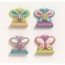 Partypro 105806 Mod Butterfly Molded Candle Set