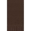 CHOCOLATE BROWN GUEST TOWEL (3PLY)