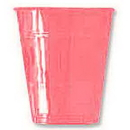 Creative Converting 28304281 16Oz Candy Pink Plastic Cup (20Ct.)
