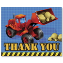 Partypro 891955 Under Construction Thank You Note