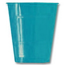 Partypro 28313171 12Oz. Turquoise Plastic Cup (20Ct.)