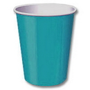Creative Converting 563131B Turquoise 9Oz Hot/Cold Cup (24Ct.)