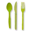 Partypro 013123 Lime Cutlery Combo Pack (24Ct)