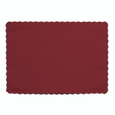 Creative Converting 863122B Burgundy Placemat