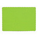 Partypro 863123B Lime Paper Placemat (50Ct)