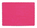 Creative Converting 863277B Hot Pink Placemat