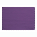 Creative Converting 863268B Purple Placemat