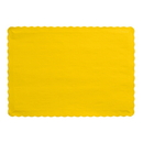 Creative Converting 863269B Golden Yellow Placemat
