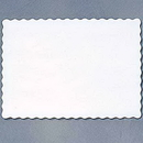 Partypro 863272B White Placemat