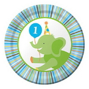 Partypro 415100 Sweet At One Boy Dessert Plate