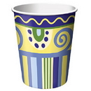 MEDITERRANEAN POTTERY HOT/CLD CUP