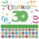 CELEBRATE IN STYLE 30TH LUNCH NAPKIN