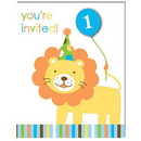 Partypro 895100 Sweet At One Boy Invitation