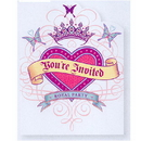 Partypro 895103 Her Highness Invite