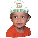 Partypro 205100 Sweet At One Boy Headbands Child