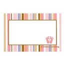 TINY TOES PINK NAME TAG
