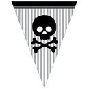 Partypro 299518 Pirate Parrty! Flag Banner