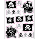 Partypro 040518 Pirate Parrty! Stickers