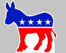 Advanced Graphics 921 Democratic Donkey Lifesize Standup