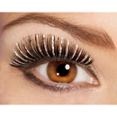 Partypro 1104 Black/Silver Holographic Lashes