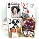 Partypro PC1947 1947 Trivia Playing Cards