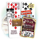 Partypro PC1948 1948 Trivia Playing Cards