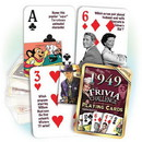 Partypro PC1949 1949 Trivia Playing Cards